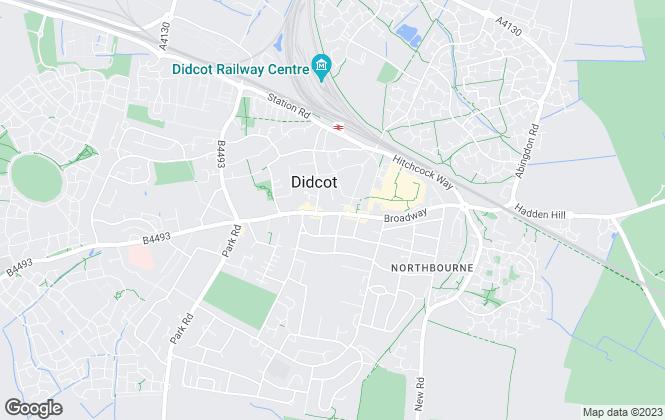 Map for William Jones Estate Agents, Didcot