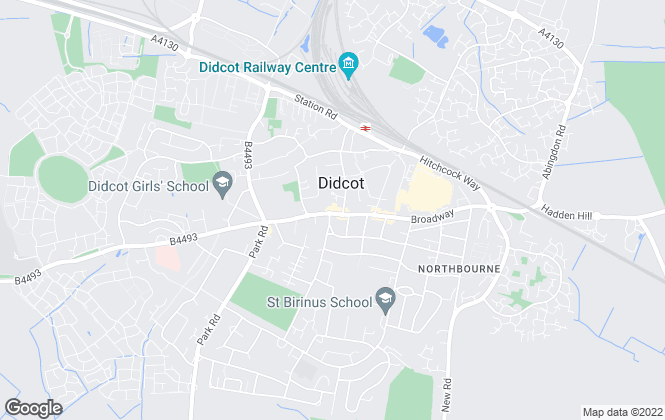 Map for Chancellors, Didcot Lettings
