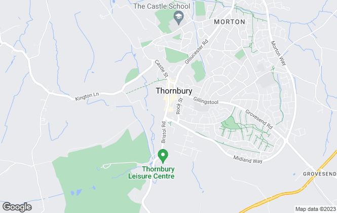 Map for Milburys, Thornbury -  Lettings