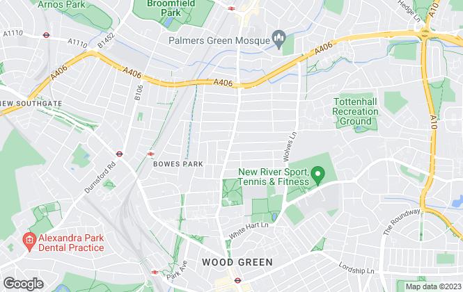 Map for Sylvan Estates LTD , London