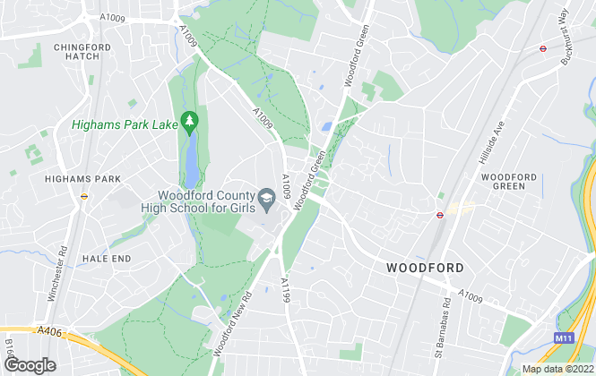 Map for Bairstow Eves, Woodford