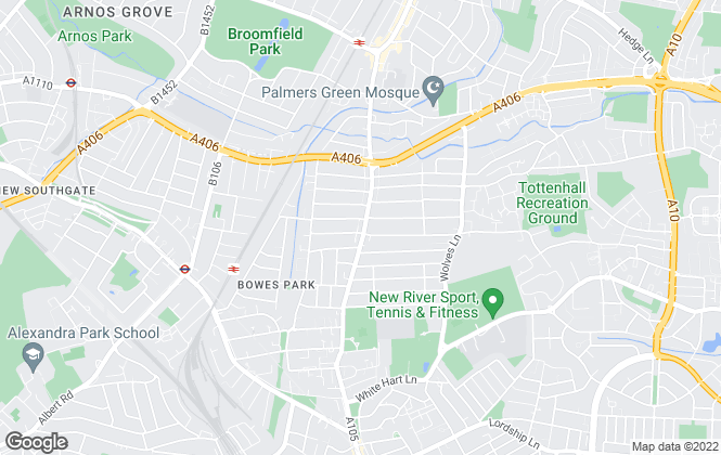 Map for Magic Student Housing, London