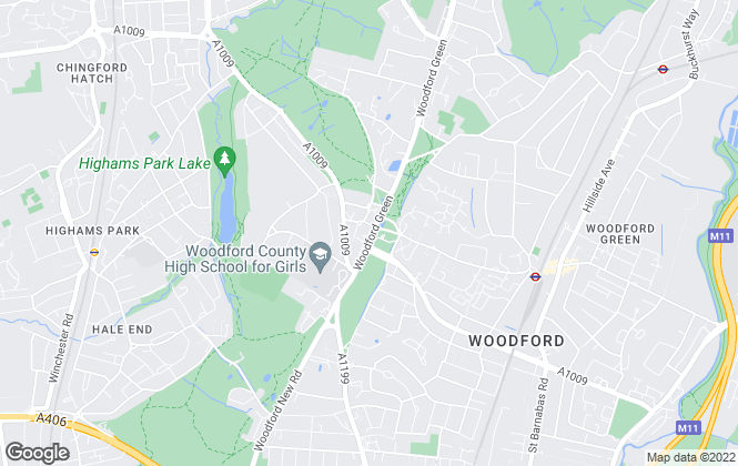 Map for Bairstow Eves, Woodford Green