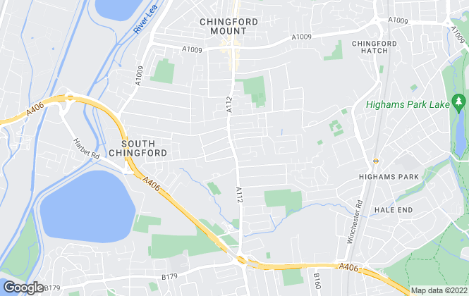 Map for Mount Estates, London