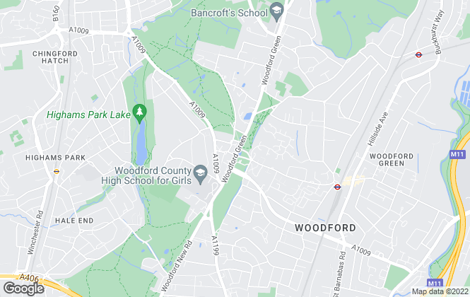 Map for Spencers Property Services, Woodford Green