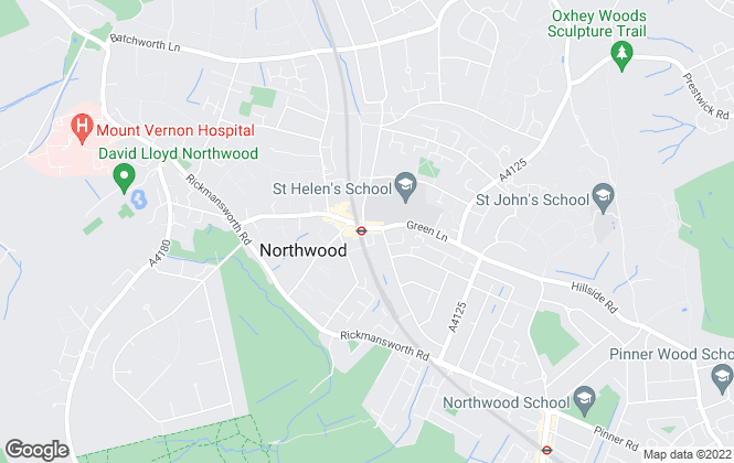 Map for David Lichfield , Northwood Lettings