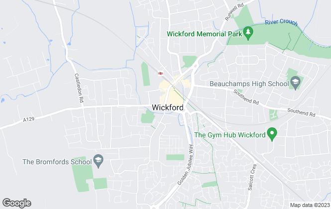 Map for Douglas Allen, Wickford