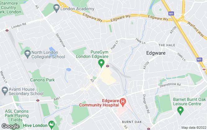Map for Bairstow Eves Lettings, Edgware