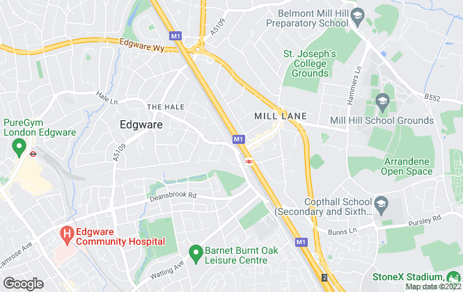 Map for Property Sisters, London