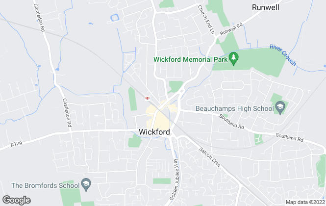 Map for Temme English Select, Wickford