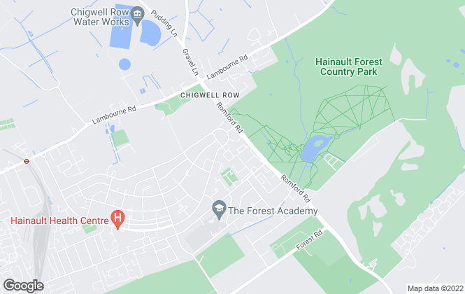 Map for Elenis Property Services, Chigwell