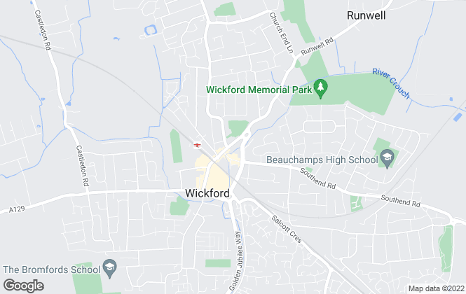 Map for Cowling & Payne, Wickford