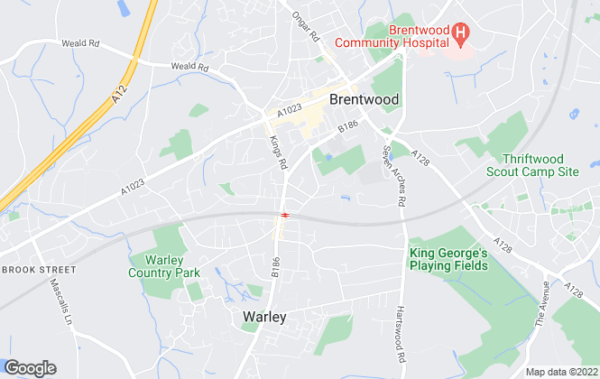 Map for Smooth Move Estates, Brentwood