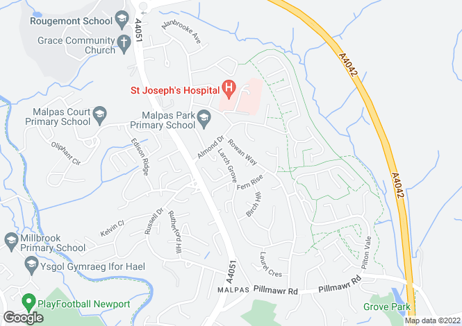 Map for Larch Grove,