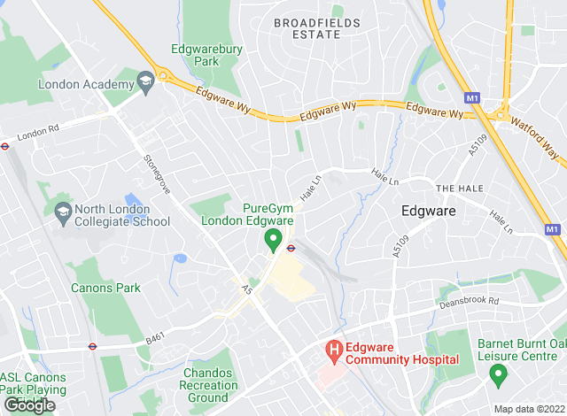 Map for Petermans, Edgware