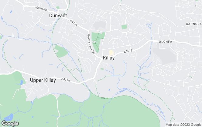 Map for John Francis, Killay