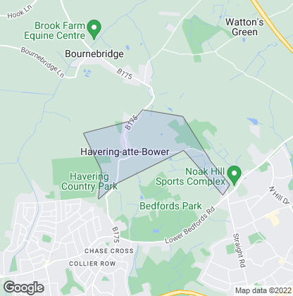 Map of property in Havering-Atte-Bower