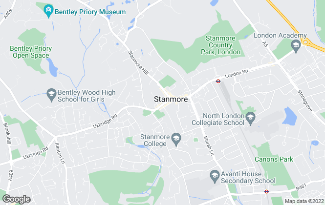 Map for Gibbs Gillespie, Stanmore Lettings