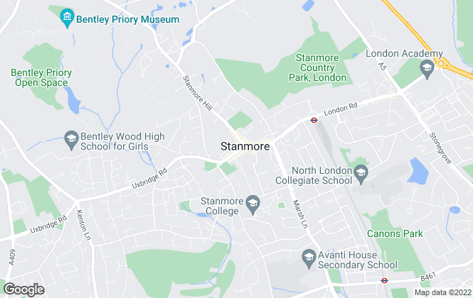 Map for Jaspar Management , Stanmore