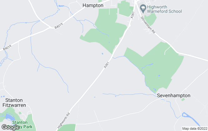 Map for The Property Shop, Swindon