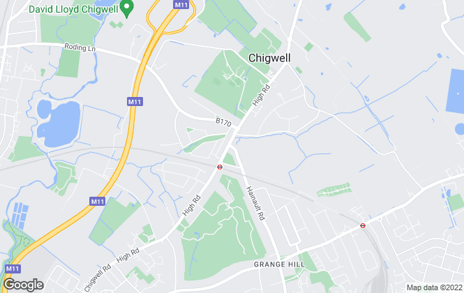 Map for Bairstow Eves, Chigwell