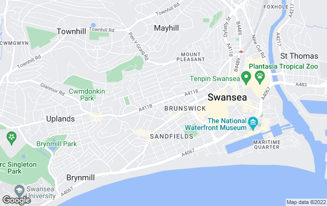 Map for Astleys Chartered Surveyors, Swansea