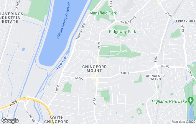 Map for Arrow Lettings and Property Management, Chingford