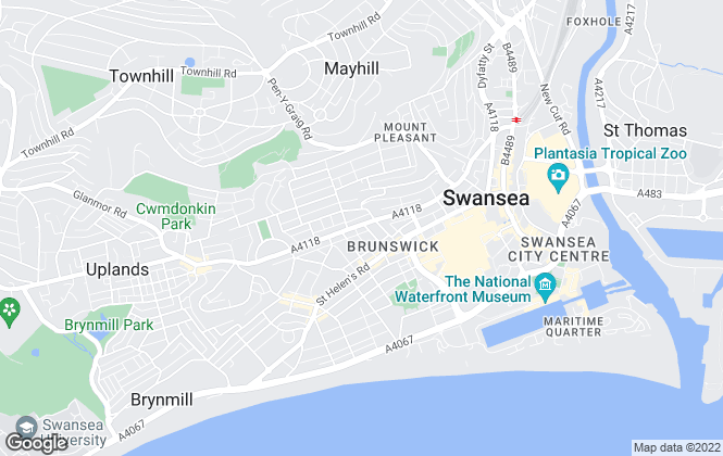 Map for John Francis, Swansea