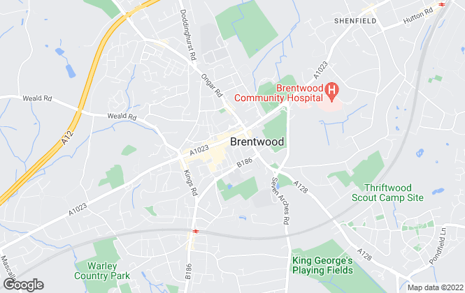 Map for Keith Ashton , Brentwood - Lettings