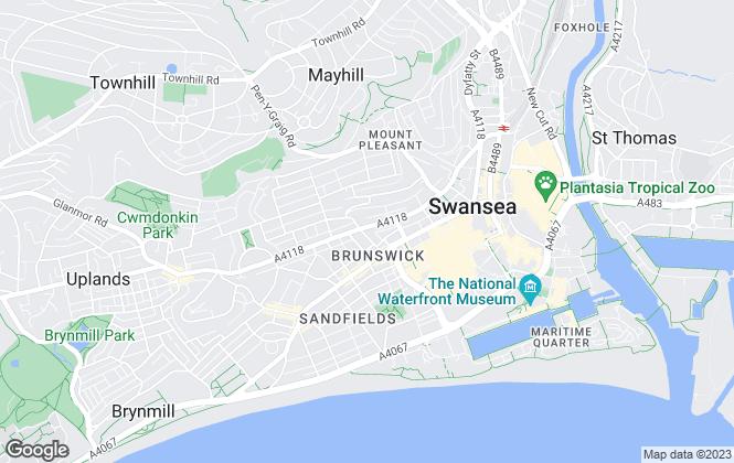 Map for Peter Alan, Swansea