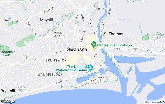 Map for Belvoir Sales, Swansea - Sales