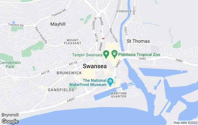 Map for Smiths Sales & Lettings, Swansea