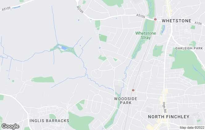 Map for Brio Property Limited, Woodside Park