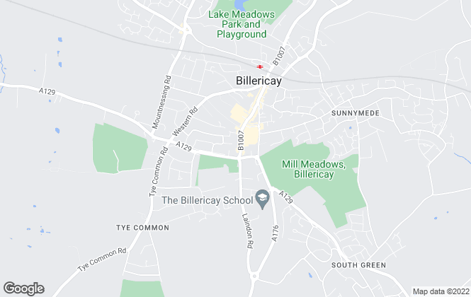 Map for The Property Specialists, Billericay