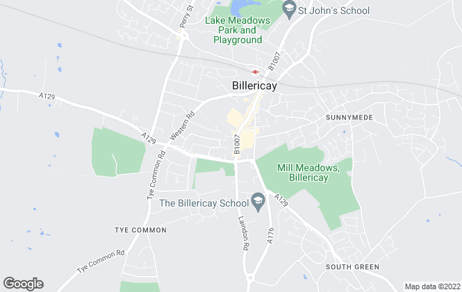 Map for Hera Management Services, Billericay