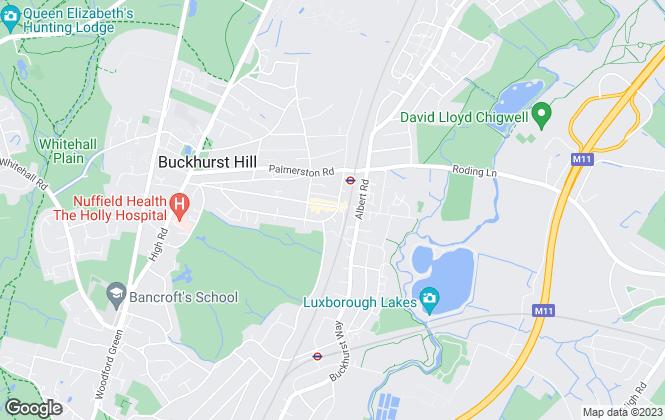 Map for Edward Taub & Co, Buckhurst Hill - Lettings