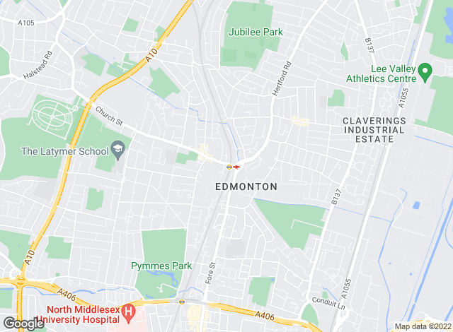 Map for Kings Group, Edmonton - Lettings