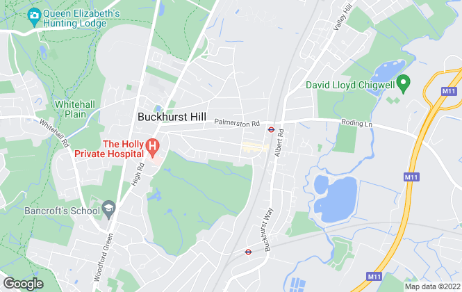 Map for Martin & Co, Buckhurst Hill - Sales and Lettings