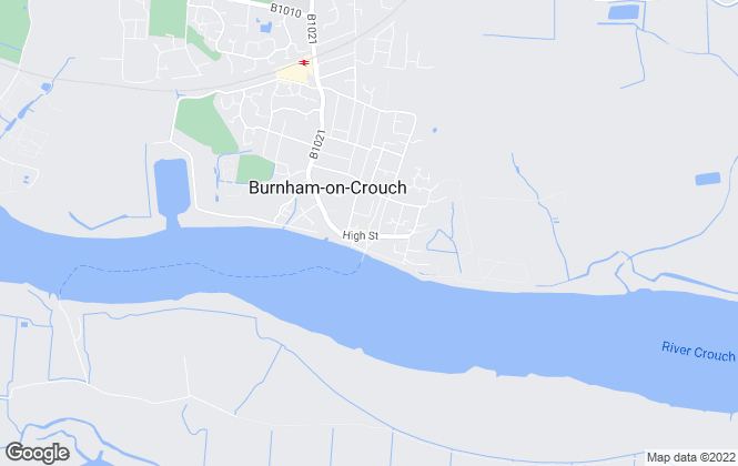 Map for Burnham Residential, Burnham-On-Crouch