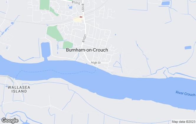 Map for Curtis O'Boyle, Burnham On Crouch