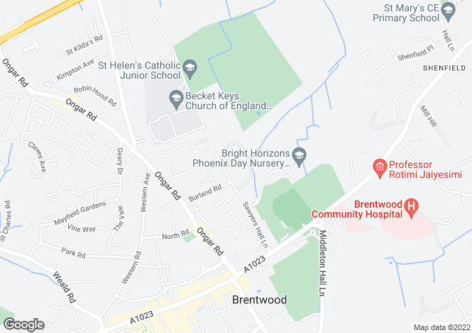 Map for Sawyers Grove,
