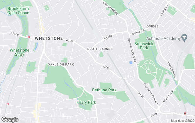 Map for Talbies, Whetstone