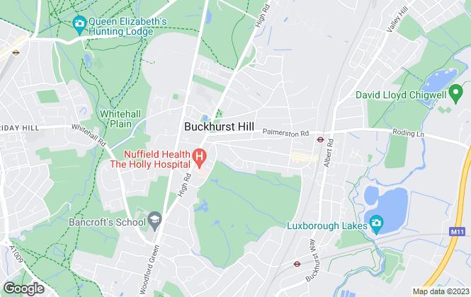 Map for Petty Son & Prestwich Ltd , Buckhurst Hill
