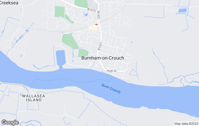 Map for Church & Hawes, Burnham on Crouch