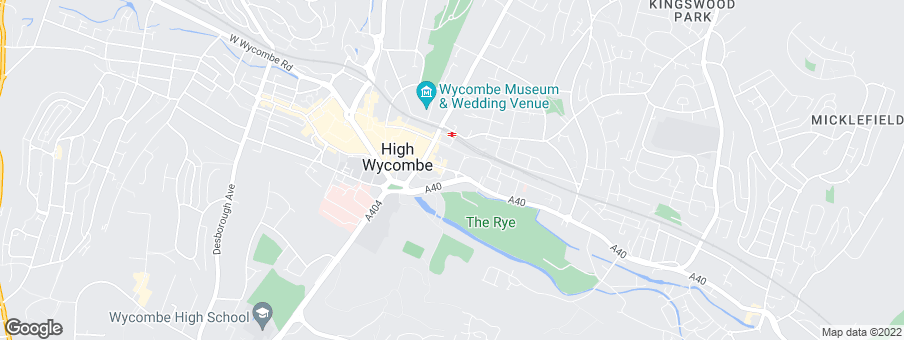 Map for Abbey Place High Wycombe Ltd