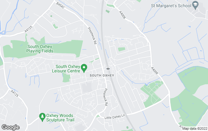 Map for Fairfield Estate Agents, Oxhey