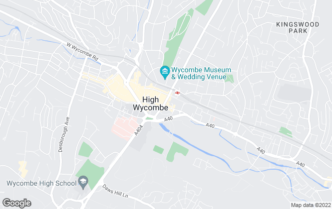 Map for Chancellors, High Wycombe Lettings
