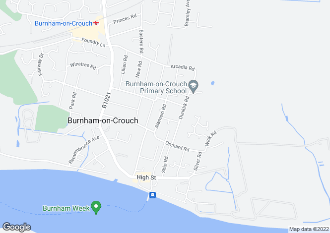 Map for Alamein Road,