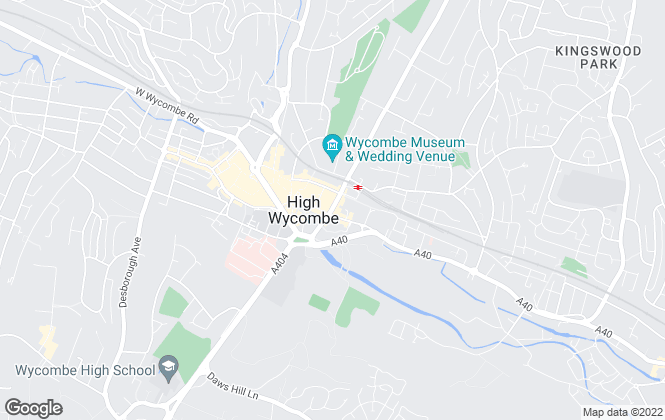 Map for Chancellors , High Wycombe New Homes Lettings