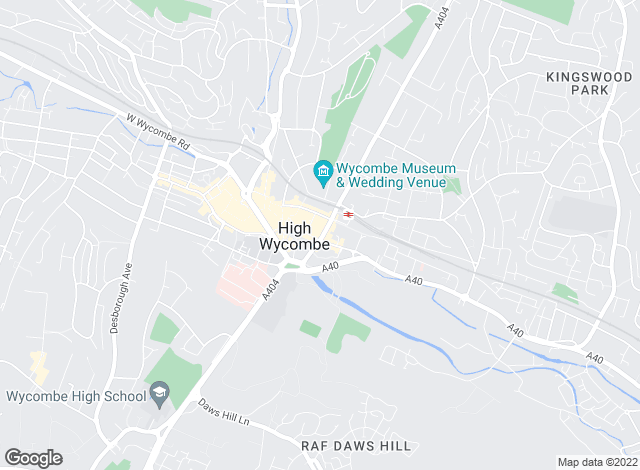 Map for Hurst Estate Agents, High Wycombe